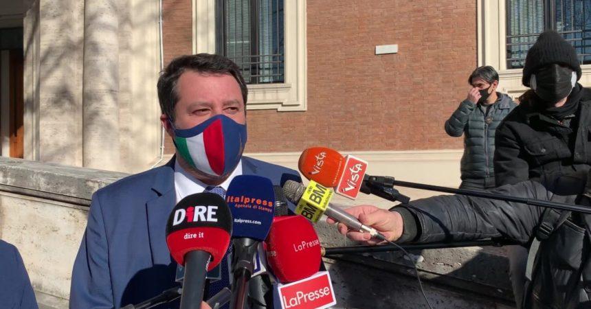 """Salvini """"Ponte sullo Stretto opera strategica"""""""