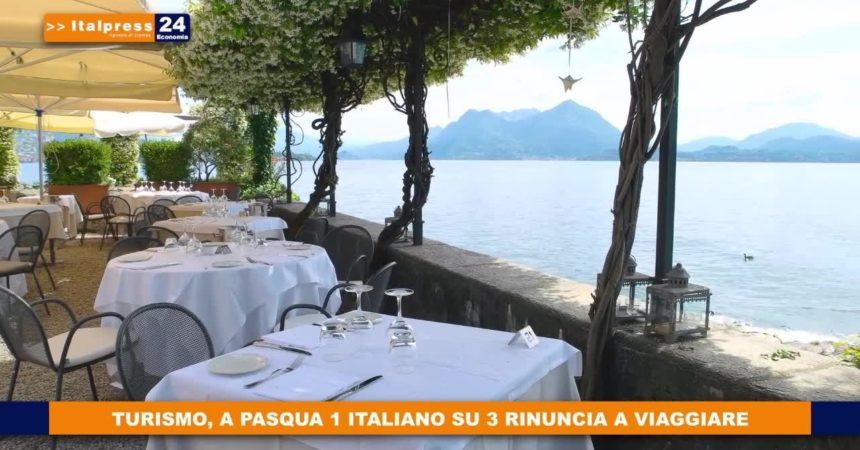 Turismo, a Pasqua 1 italiano su 3 rinuncia a viaggiare