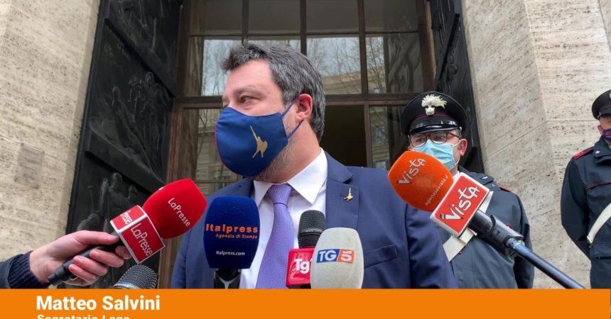 "<div>Vaccini, Salvini ""Dall'Ue errori clamorosi""</div>"