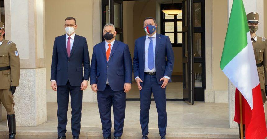 "Salvini incontra premier Ungheria e Polonia per ""Rinascimento europeo"""