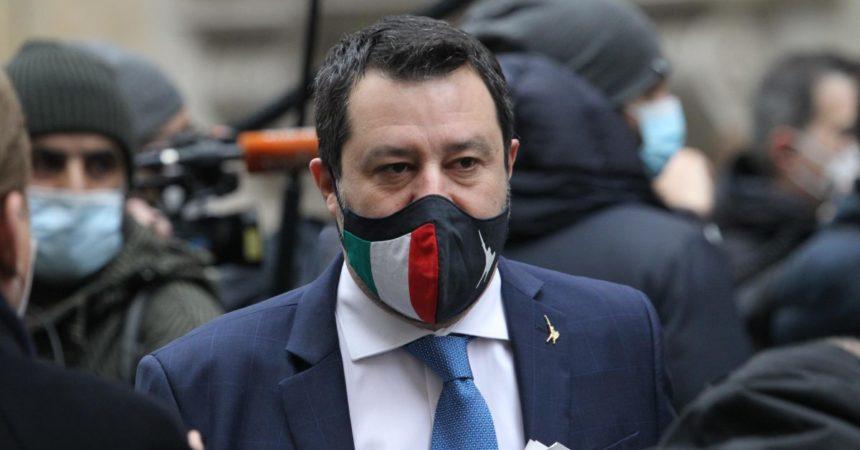 """Salvini """"Fiducia in Draghi, non mi interessa la polemica con Speranza"""""""