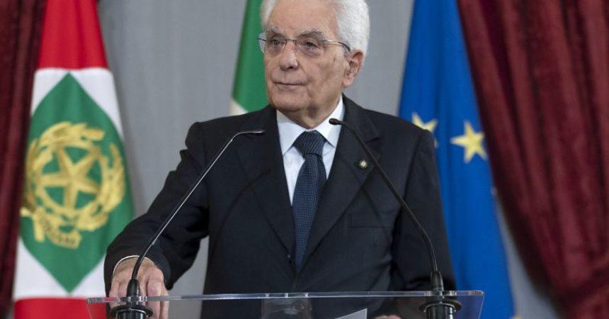 """Covid, Mattarella """"Sforzo congiunto ricordando valori della Resistenza"""""""