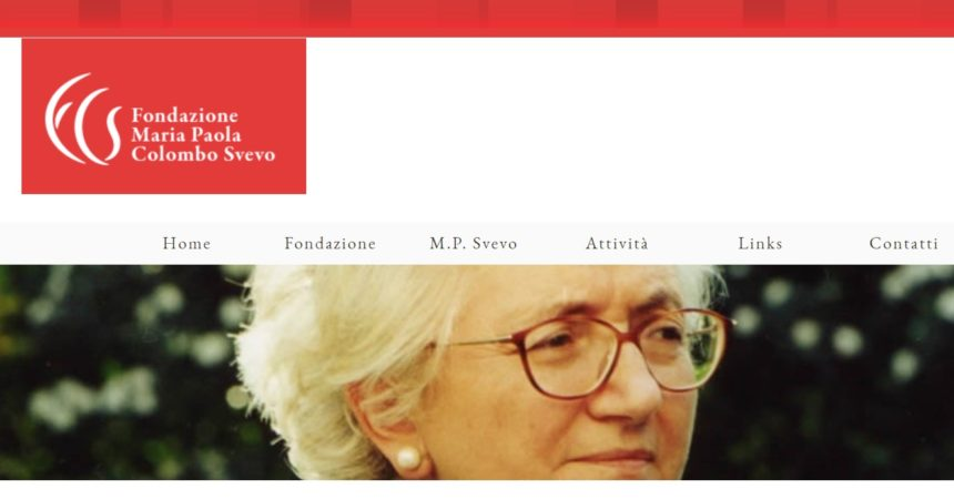 Un libro ricorda Maria Paola Colombo Svevo