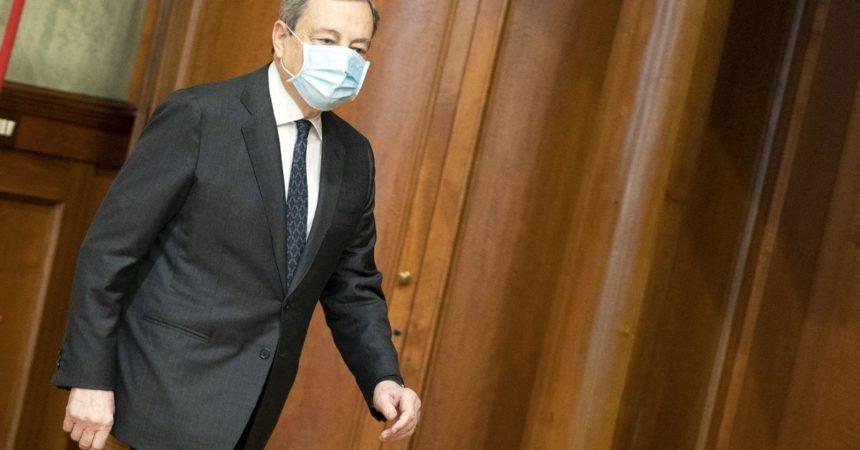 """25 aprile, Draghi: """"Dovere della memoria riguarda tutti"""""""