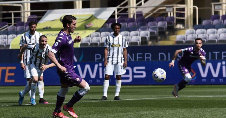 La Fiorentina ferma sull'1-1 la Juventus