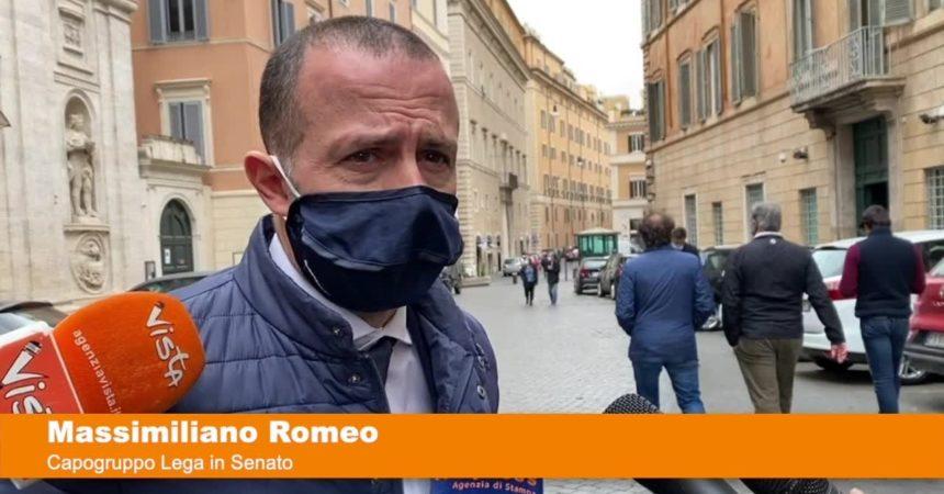 """Romeo """"Tornare piano piano alla normalità, la gente è stanca"""""""