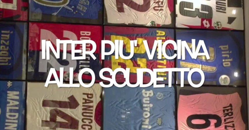 Il pallone racconta – Inter più vicina allo scudetto