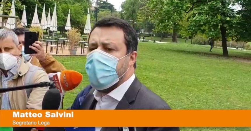 """Salvini """"Obiettivo eliminare coprifuoco per lavorare"""""""