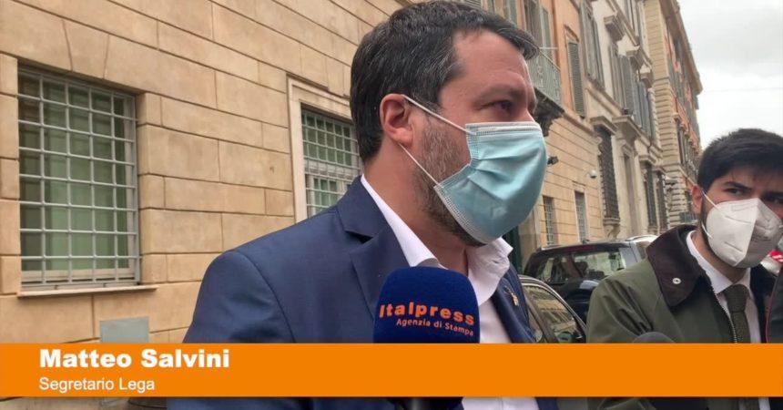 """Salvini """"Spero commissione d'inchiesta su Speranza"""""""