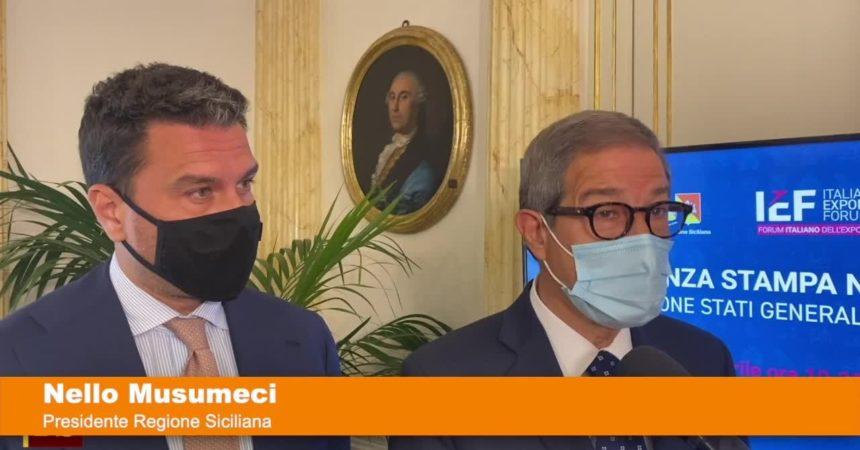 """Stati generali dell'export, Musumeci """"Proiettiamo brand Sicilia nel mondo"""""""