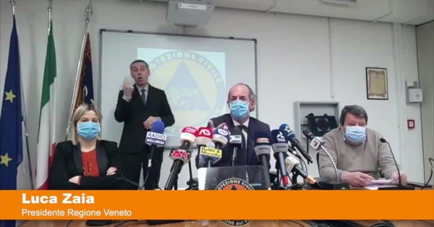 "Coronavirus, Zaia ""In Veneto due casi di variante indiana"""