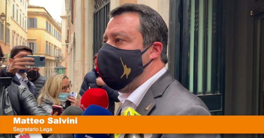 """Salvini """"Stiamo lavorando per gli italiani"""""""