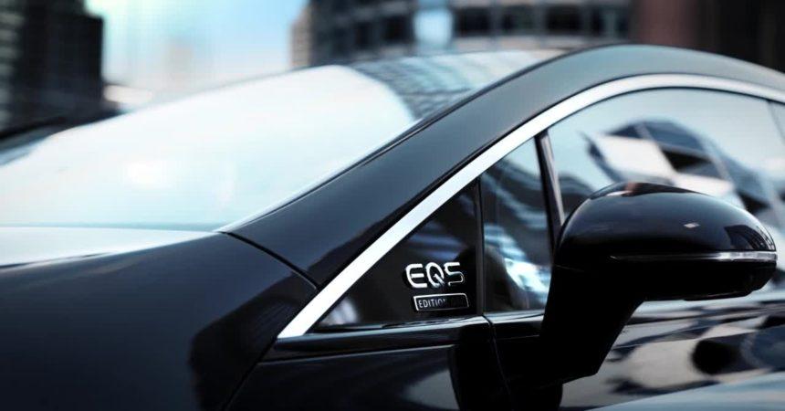 Mercedes EQS, la berlina luxury