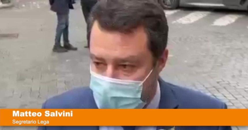"""Salvini """"Dalla maggioranza impegno a rivedere il coprifuoco a maggio"""""""