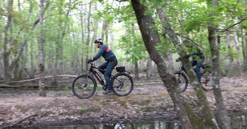 Bici elettriche per i carabinieri nei parchi nazionali