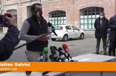 """Salvini """"Il 26 aprile si ritorna alla vita"""""""