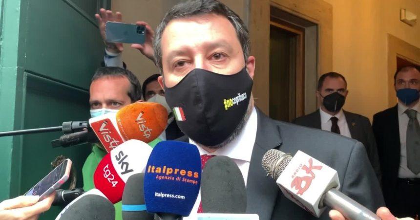 """Salvini """"Maggio sarà il mese del ritorno alla vita"""""""
