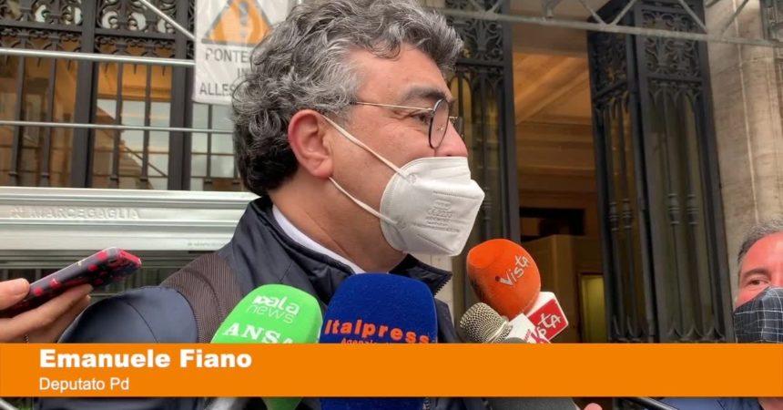 """Fiano """"Maggioranza eterogenea, naturali divergenze"""""""