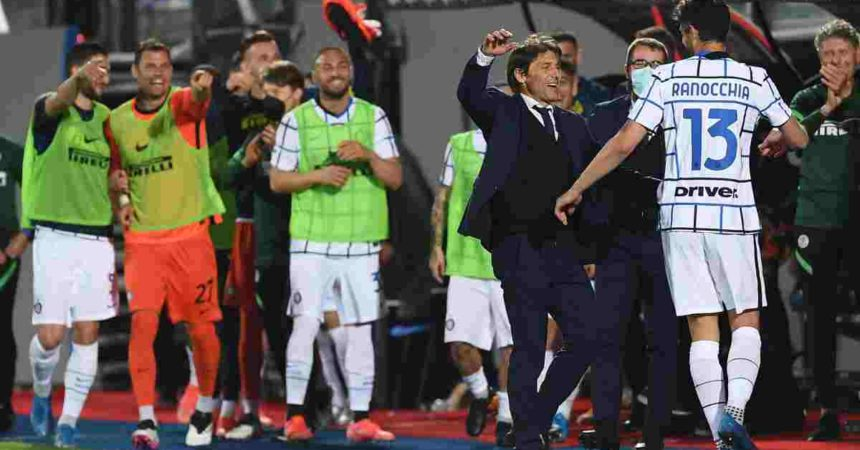 Il Sassuolo ferma l'Atalanta sull'1-1, Inter campione d'italia