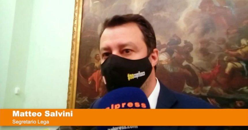 """Salvini """"Eliminare coprifuoco, contiamo sul buonsenso degli italiani"""""""