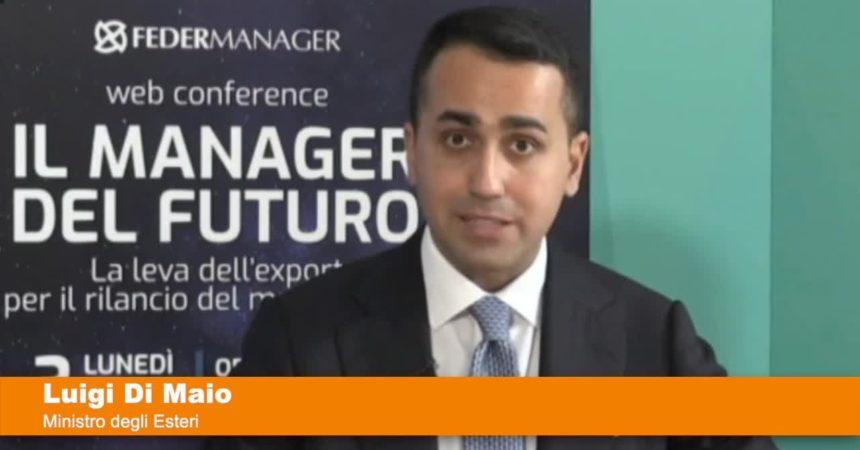 """Di Maio """"Italia hub per investimenti esteri di qualità"""""""