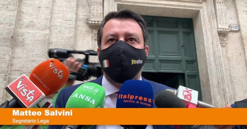 """Salvini """"Pd ossessionato da Lega, ma siamo al Governo per restarci"""""""