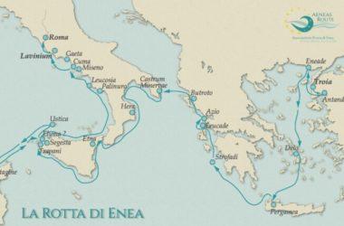 La Rotta di Enea diventa un itinerario certificato dal Consiglio d'Europa