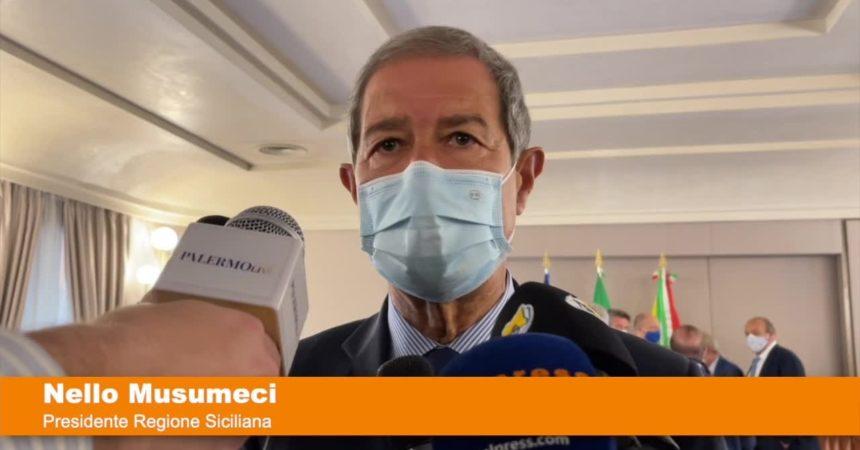 """Vaccino, Musumeci """"In Sicilia da domani al via prenotazione 50enni"""""""