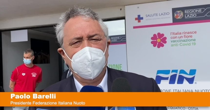 """Barelli: """"Gli atleti rappresentano l'Italia, vanno vaccinati"""""""