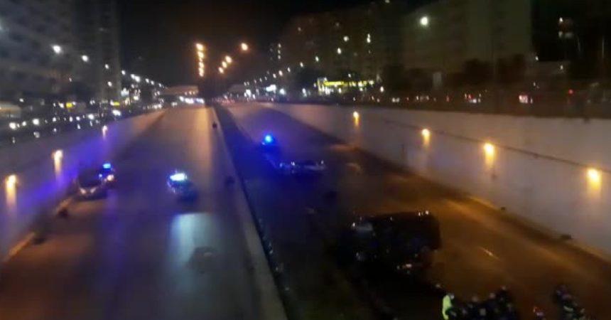Palermo, grave incidente stradale in viale Regione Siciliana