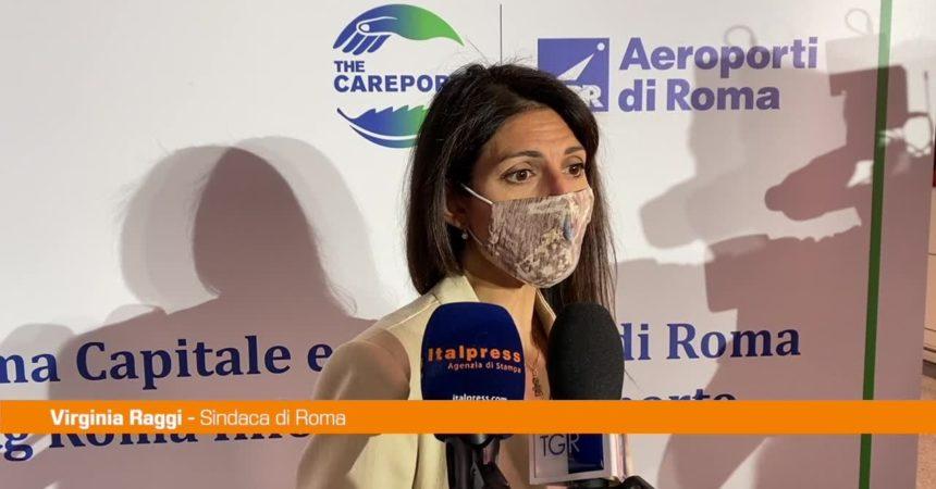Tg Roma Informa trasmessi su due schermi dell'aeroporto Fiumicino