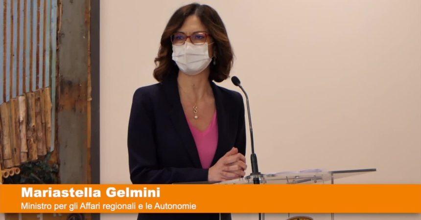 """Gelmini """"Mezzogiorno centrale nel Pnrr"""""""