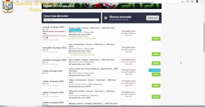 Truffa sui biglietti per gli Europei di calcio, oscurati 2 siti web