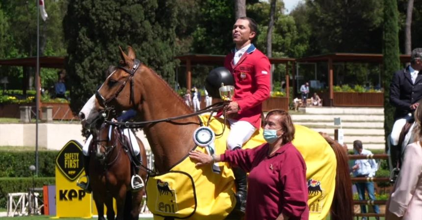 "Equitazione, Di Paola: ""Piazza di Siena una sfida vinta"""