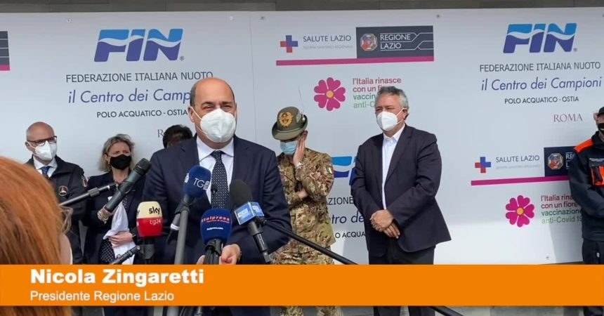 """Vaccino, Zingaretti """"collaborazione parola d'ordine per vincere sfida"""""""