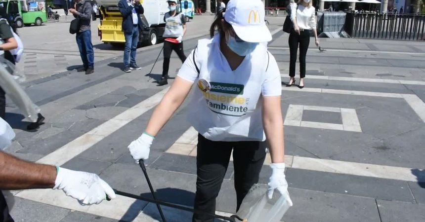 """McDonald's, al via """"Le giornate insieme a te per l'ambiente"""" contro l'abbandono dei rifiuti"""