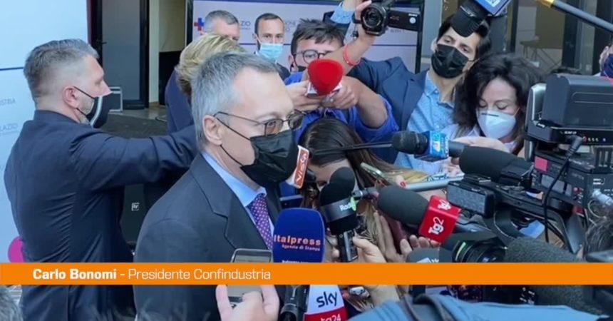 """Bonomi: """"Sui licenziamenti Draghi ha trovato mediazione saggia"""""""