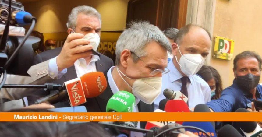 """Landini: """"Epifani rimarrà un modello per i leader sindacali"""""""