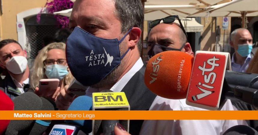 """Amministrative, Salvini: """"Cambiamento per restituire dignità a Roma"""""""