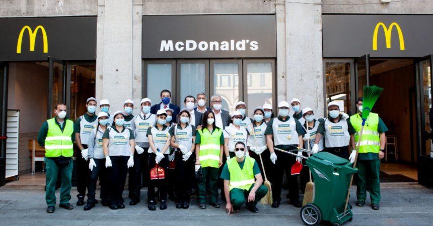 McDonald's, al via le giornate dedicate alla pulizia delle città
