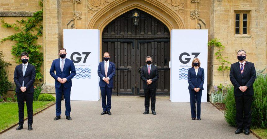 """Covid, Speranza """"Dal G7 impegno per i Paesi più fragili"""""""