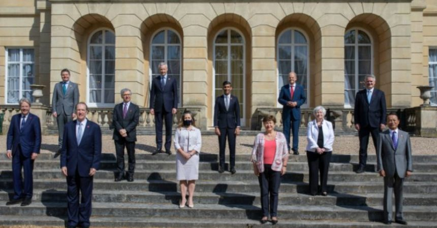 Da G7 accordo su tassazione minima globale per multinazionali
