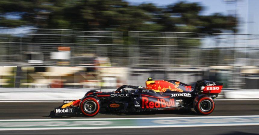 In Azerbaijan vince Perez davanti a Vettel, 4° Leclerc