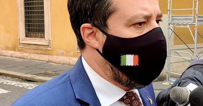"""Governo, Salvini """"Al fianco di Draghi finchè Paese non riparte"""""""