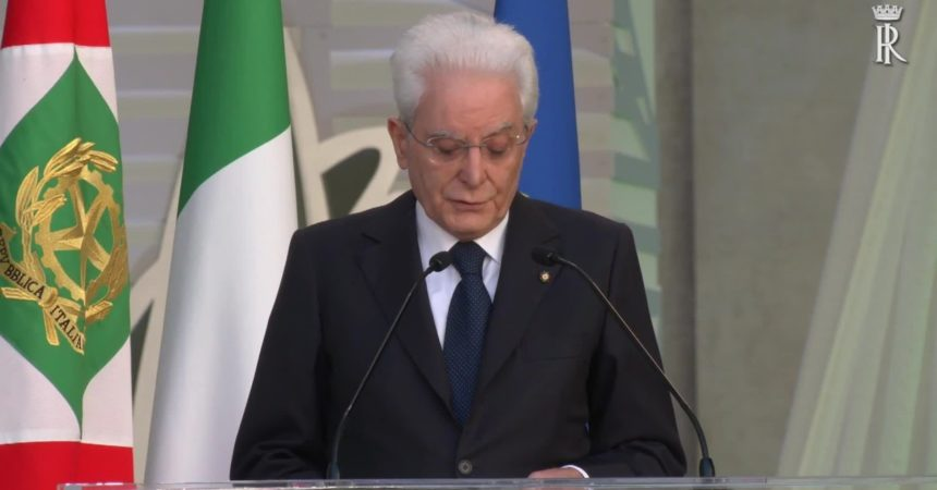 """Mattarella """"L'Ue imprescindibile per l'Italia"""""""