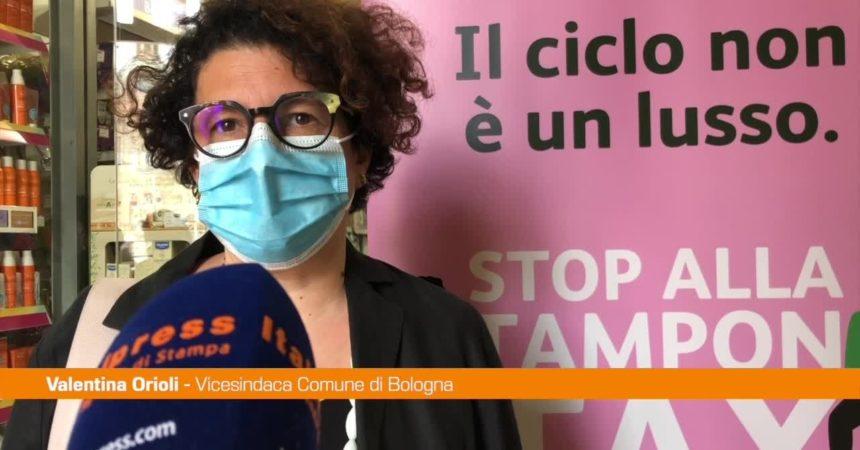 Bologna, in 33 farmacie non si paga Iva su assorbenti