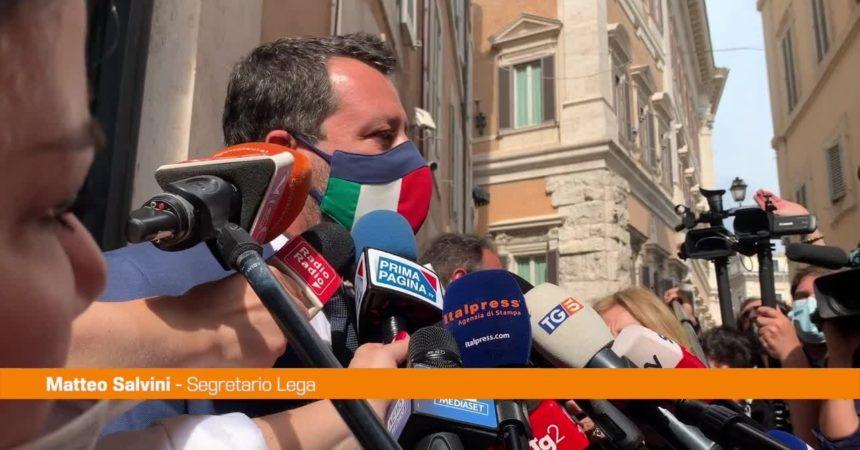 """Amministrative, Salvini: """"Dal centrodestra una squadra per vincere"""""""