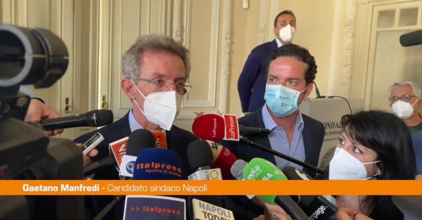 """Amministrative Napoli, Manfredi: """"Servizi efficienti, no a quartieri dormitorio"""""""