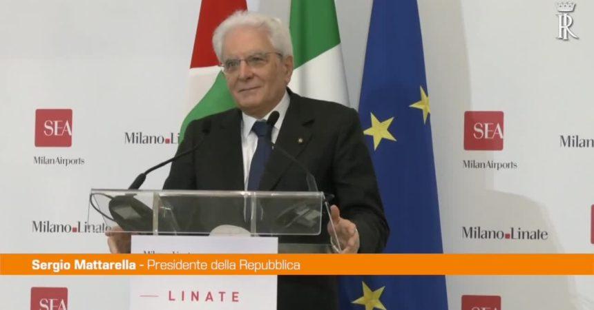 """Covid, Mattarella: """"L'Italia non è stata inerte né passiva"""""""