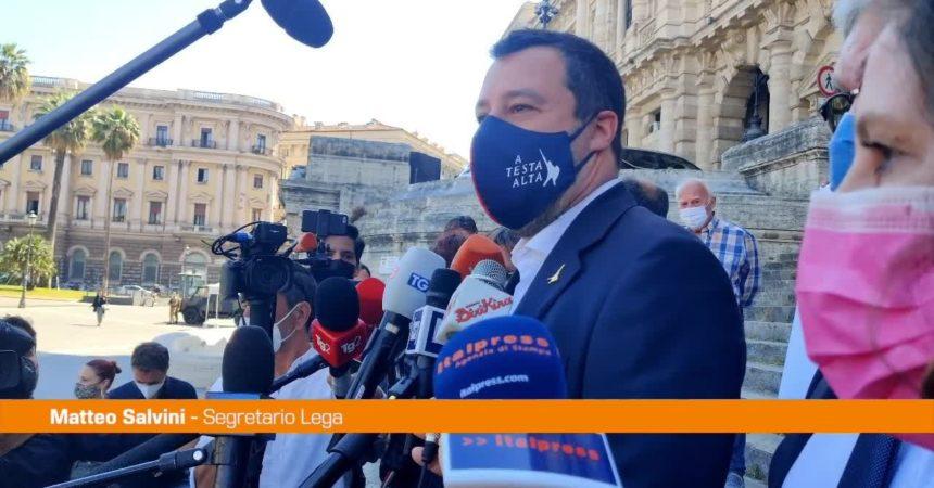 """Giustizia, Salvini """"Vogliamo riforma per processi più veloci"""""""
